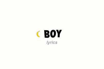 Boy Lyrics